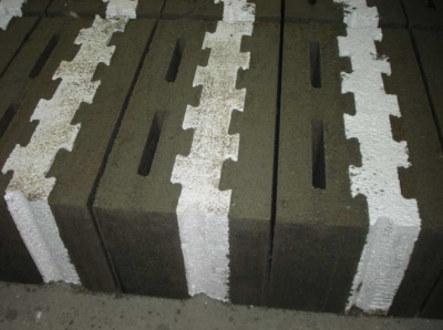 concrete blocks insulation EPS