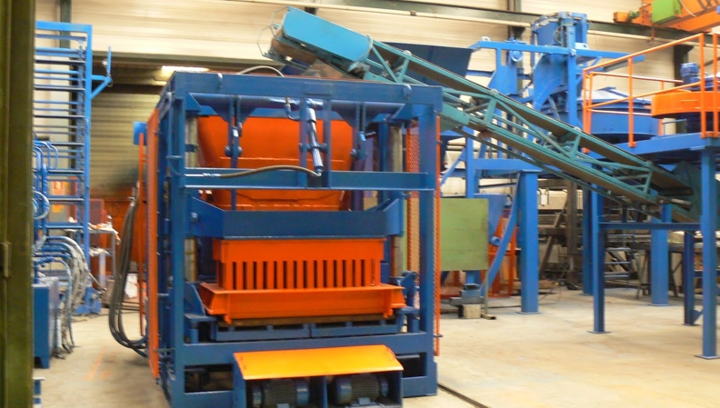 Block making machine for sale, Rometa