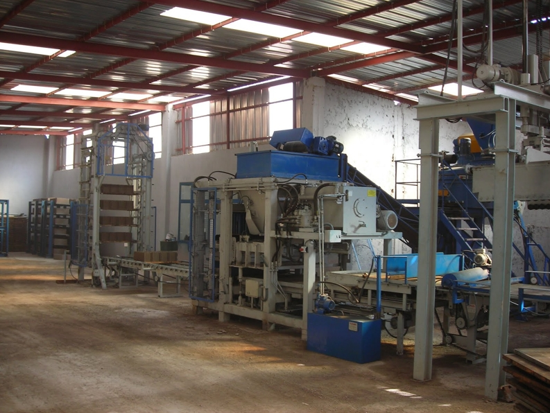 Installation concrete block machine Morocco