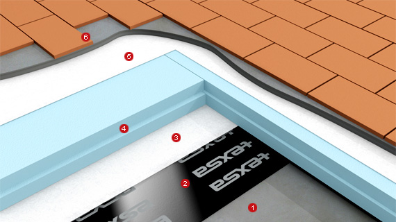 Texsa: insulation paver